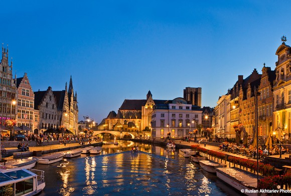 Ghent kingdom. In the footsteps of the Flemish Counts